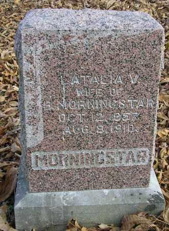 MORNINGSTAR, LATALIA V - Benton County, Arkansas | LATALIA V MORNINGSTAR - Arkansas Gravestone Photos