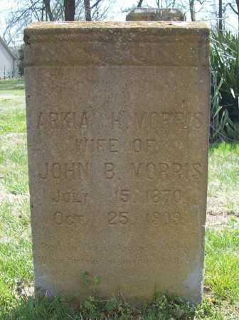 MORRIS, ARKIA H. - Benton County, Arkansas | ARKIA H. MORRIS - Arkansas Gravestone Photos