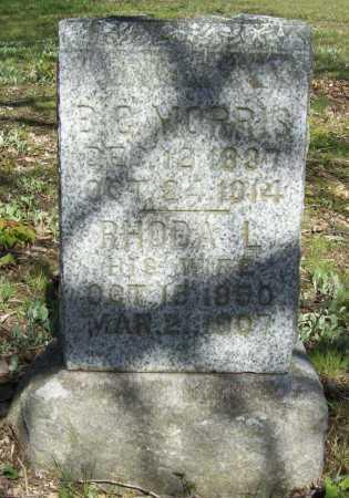 MORRIS, RHODA L - Benton County, Arkansas   RHODA L MORRIS - Arkansas Gravestone Photos
