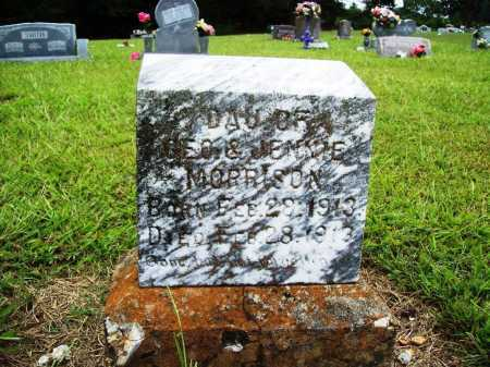 MORRISON, INFANT DAUGHTER - Benton County, Arkansas | INFANT DAUGHTER MORRISON - Arkansas Gravestone Photos