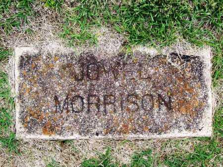 MORRISON, JOWEL - Benton County, Arkansas | JOWEL MORRISON - Arkansas Gravestone Photos