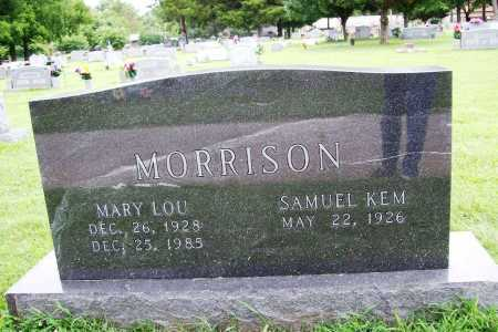 MORRISON, MARY LOU - Benton County, Arkansas | MARY LOU MORRISON - Arkansas Gravestone Photos