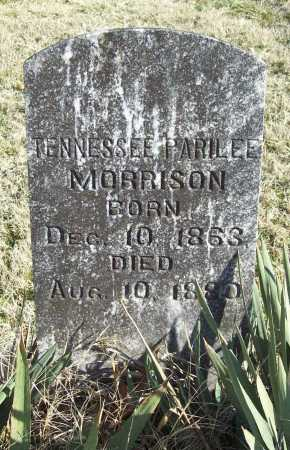 MORRISON, TENNESSEE PARILEE - Benton County, Arkansas | TENNESSEE PARILEE MORRISON - Arkansas Gravestone Photos