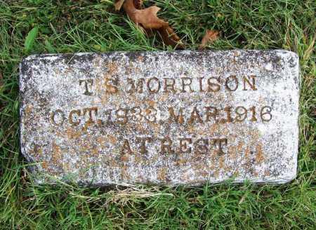 MORRISON, TOM S - Benton County, Arkansas | TOM S MORRISON - Arkansas Gravestone Photos