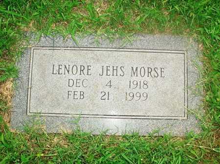 JEHS MORSE, LENORE - Benton County, Arkansas | LENORE JEHS MORSE - Arkansas Gravestone Photos