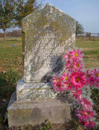 MORSE, MARGARET - Benton County, Arkansas | MARGARET MORSE - Arkansas Gravestone Photos