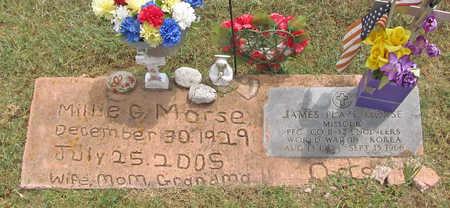MORSE, MILLIE G - Benton County, Arkansas | MILLIE G MORSE - Arkansas Gravestone Photos