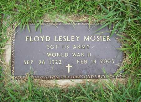 MOSIER (VETERAN WWII), FLOYD LESLEY - Benton County, Arkansas   FLOYD LESLEY MOSIER (VETERAN WWII) - Arkansas Gravestone Photos