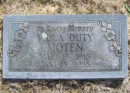 MOTEN, VIOLA - Benton County, Arkansas | VIOLA MOTEN - Arkansas Gravestone Photos