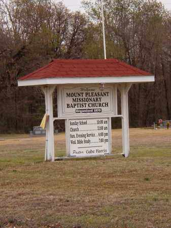 *MOUNT PLEASANT CHURCH SIGN,  - Benton County, Arkansas |  *MOUNT PLEASANT CHURCH SIGN - Arkansas Gravestone Photos
