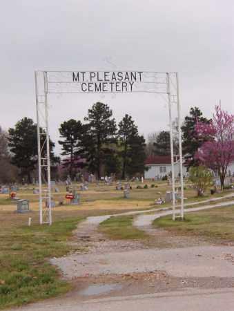 *MT PLEASANT ENTRANCE,  - Benton County, Arkansas |  *MT PLEASANT ENTRANCE - Arkansas Gravestone Photos