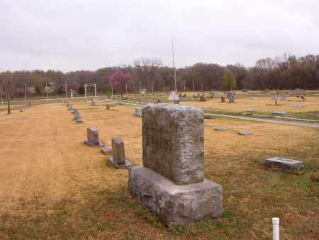 *MT PLEASANT OVERVIEW,  - Benton County, Arkansas |  *MT PLEASANT OVERVIEW - Arkansas Gravestone Photos