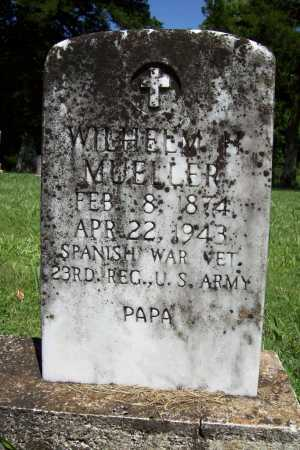 MUELLER (VETERAN SAW), WILHELM H. - Benton County, Arkansas | WILHELM H. MUELLER (VETERAN SAW) - Arkansas Gravestone Photos