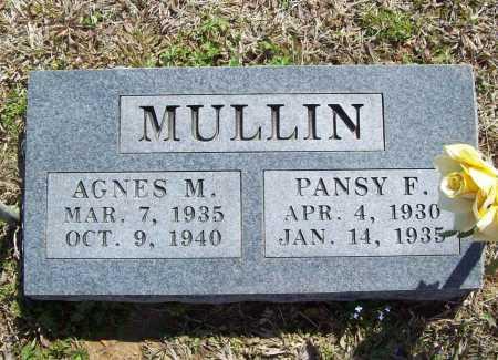 MULLIN, AGNES M. - Benton County, Arkansas | AGNES M. MULLIN - Arkansas Gravestone Photos