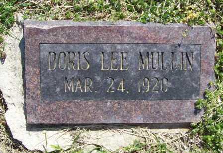 MULLIN, DORIS LEE - Benton County, Arkansas | DORIS LEE MULLIN - Arkansas Gravestone Photos