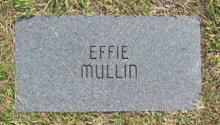 MULLIN, EFFIE - Benton County, Arkansas | EFFIE MULLIN - Arkansas Gravestone Photos