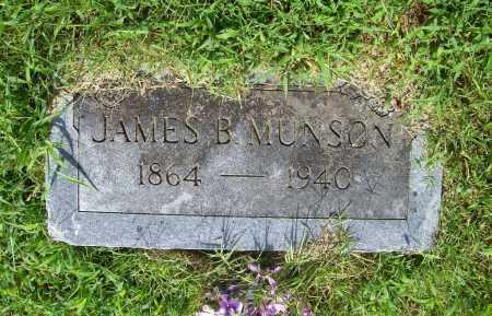 MUNSON, JAMES B. - Benton County, Arkansas | JAMES B. MUNSON - Arkansas Gravestone Photos