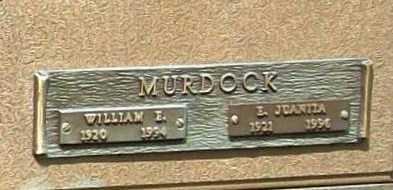 MURDOCK, WILLIAM E. - Benton County, Arkansas | WILLIAM E. MURDOCK - Arkansas Gravestone Photos
