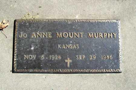MOUNT MURPHY, JO ANNE - Benton County, Arkansas | JO ANNE MOUNT MURPHY - Arkansas Gravestone Photos