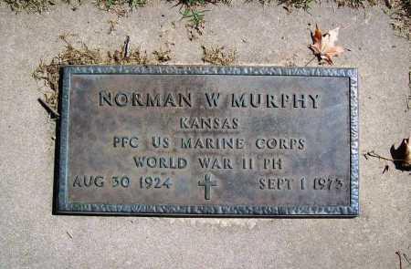 MURPHY (VETERAN WWII), NORMAN W - Benton County, Arkansas   NORMAN W MURPHY (VETERAN WWII) - Arkansas Gravestone Photos