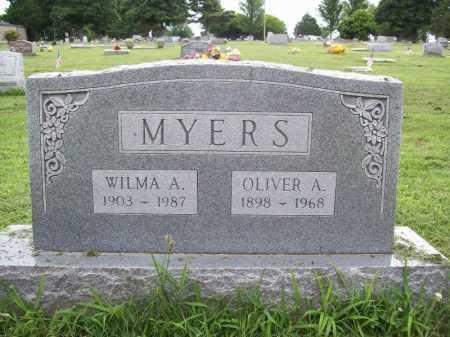 MYERS, WILMA A. - Benton County, Arkansas | WILMA A. MYERS - Arkansas Gravestone Photos