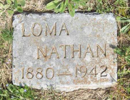 NATHAN, LOMA - Benton County, Arkansas | LOMA NATHAN - Arkansas Gravestone Photos