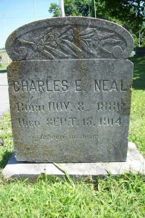 NEAL, CHARLES E. - Benton County, Arkansas   CHARLES E. NEAL - Arkansas Gravestone Photos