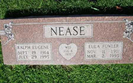 NEASE, EULA - Benton County, Arkansas | EULA NEASE - Arkansas Gravestone Photos
