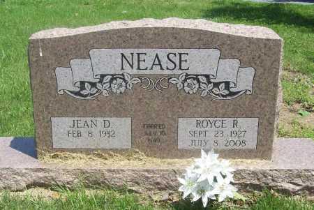 NEASE (VETERAN), ROYCE R - Benton County, Arkansas | ROYCE R NEASE (VETERAN) - Arkansas Gravestone Photos