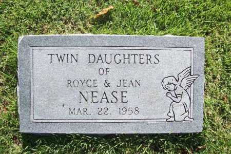 NEASE, TWIN DAUGHTERS - Benton County, Arkansas | TWIN DAUGHTERS NEASE - Arkansas Gravestone Photos