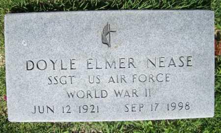 NEASE (VETERAN WWII), DOYLE ELMER - Benton County, Arkansas | DOYLE ELMER NEASE (VETERAN WWII) - Arkansas Gravestone Photos