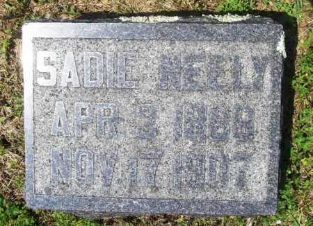 NEELY, SADIE - Benton County, Arkansas | SADIE NEELY - Arkansas Gravestone Photos