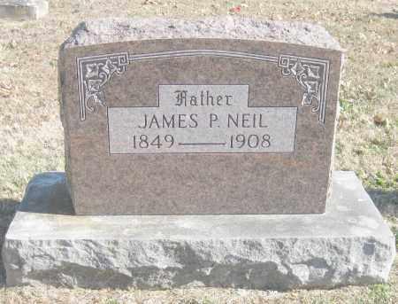 NEIL, JAMES P. - Benton County, Arkansas   JAMES P. NEIL - Arkansas Gravestone Photos