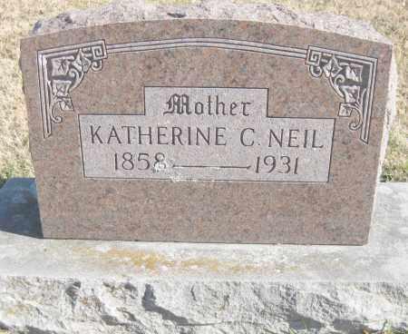 NEIL, KATHERINE C. - Benton County, Arkansas | KATHERINE C. NEIL - Arkansas Gravestone Photos
