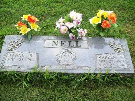 NELL, WARREN E. - Benton County, Arkansas | WARREN E. NELL - Arkansas Gravestone Photos