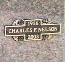 NELSON, CHARLES F. - Benton County, Arkansas | CHARLES F. NELSON - Arkansas Gravestone Photos