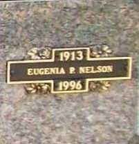 NELSON, EUGENIA P. - Benton County, Arkansas | EUGENIA P. NELSON - Arkansas Gravestone Photos