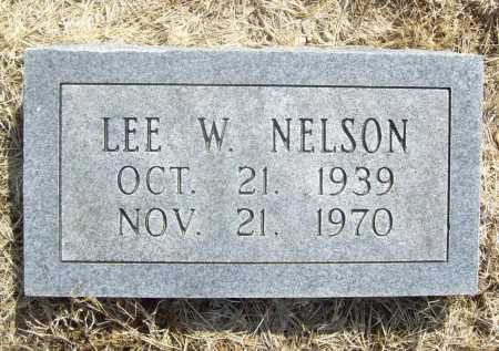 NELSON, LEE W. - Benton County, Arkansas | LEE W. NELSON - Arkansas Gravestone Photos