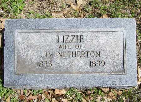 NETHERTON, LIZZIE - Benton County, Arkansas | LIZZIE NETHERTON - Arkansas Gravestone Photos