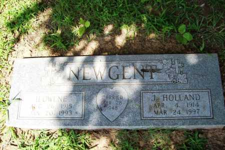 NEWGENT, ILOWENE - Benton County, Arkansas   ILOWENE NEWGENT - Arkansas Gravestone Photos