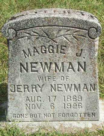 ANDERSON NEWMAN, MAGGIE J - Benton County, Arkansas | MAGGIE J ANDERSON NEWMAN - Arkansas Gravestone Photos