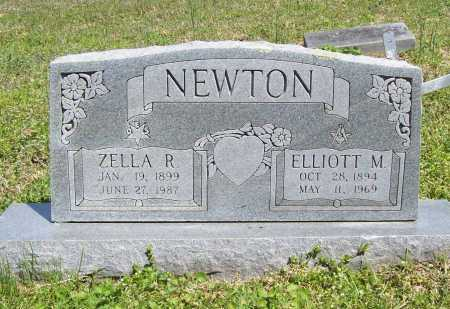 NEWTON, ELLIOTT M. - Benton County, Arkansas | ELLIOTT M. NEWTON - Arkansas Gravestone Photos