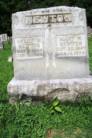 NEWTON, HENRY W. - Benton County, Arkansas | HENRY W. NEWTON - Arkansas Gravestone Photos