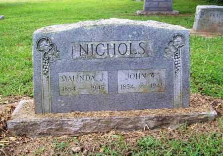 NICHOLS, JOHN W. - Benton County, Arkansas | JOHN W. NICHOLS - Arkansas Gravestone Photos