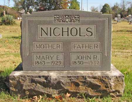 NICHOLS, MARY E. - Benton County, Arkansas   MARY E. NICHOLS - Arkansas Gravestone Photos