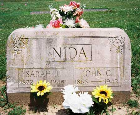 NIDA, JOHN C. - Benton County, Arkansas | JOHN C. NIDA - Arkansas Gravestone Photos
