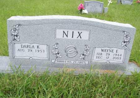 NIX, WAYNE EDD - Benton County, Arkansas   WAYNE EDD NIX - Arkansas Gravestone Photos