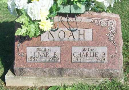 NOAH, LUNAR B. - Benton County, Arkansas | LUNAR B. NOAH - Arkansas Gravestone Photos