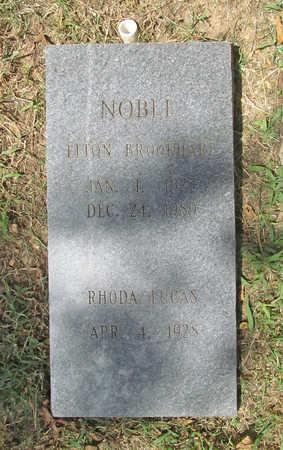 NOBLE, ELTON BROOKHART - Benton County, Arkansas | ELTON BROOKHART NOBLE - Arkansas Gravestone Photos