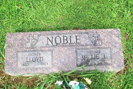 NOBLE, MILLIE JANE - Benton County, Arkansas   MILLIE JANE NOBLE - Arkansas Gravestone Photos